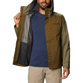 Columbia Cabot Trail Jacket Men, new olive/stone green